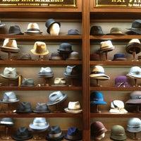 Photo taken at Goorin Bros. Hat Shop Magazine St. by Mike V. on 5/17/2013