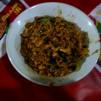 Photo taken at Mie get by Quina Paramadina R. on 4/20/2014