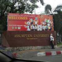 Photo taken at Assumption University by ModSter karnthab k. on 6/24/2013