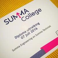 Photo taken at Summa College Eindhoven, locatie Frederiklaan by Fred R. on 7/7/2016