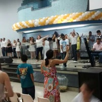 Photo taken at Igreja Batista Da Paz Barreiro by Marcelo Silva F. on 1/1/2015