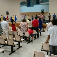 Photo taken at Igreja Batista Da Paz Barreiro by Marcelo Silva F. on 10/4/2015