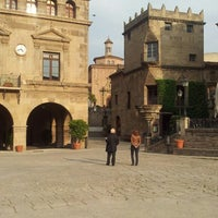 Photo taken at Poble Espanyol by oleg8or on 2/21/2013