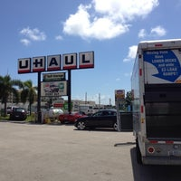 Photo taken at U-Haul Moving & Storage of Five Points by Shawn B. on 10/3/2012