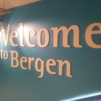 Photo taken at Bergen Lufthavn, Flesland (BGO) by Uwe R. on 1/12/2013