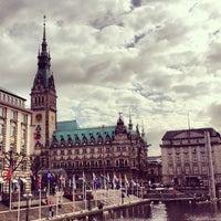 Photo taken at Alsterterrassen by Natalia T. on 5/27/2013