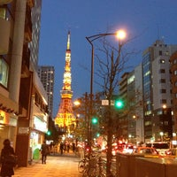 Photo taken at Akabanebashi Station (E21) by kumohamiz on 11/21/2012