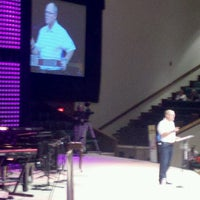 Photo taken at First Baptist North Spartanburg by Vicki H. on 9/29/2012