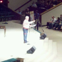 Photo taken at First Baptist North Spartanburg by Vicki H. on 9/28/2012