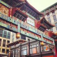 Photo taken at Chinatown Friendship Archway by Shiladitya M. on 10/6/2012