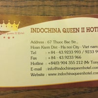 Photo taken at Indochina Queen 2 Hotel by 5 B. on 8/2/2016