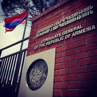 Photo taken at Consulate General of Armenia by Jack K. on 7/13/2013