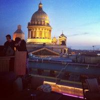 Photo taken at W St. Petersburg by Erika K. on 5/11/2013
