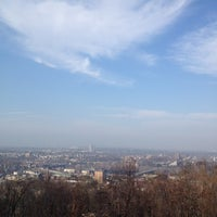 Photo taken at Lehigh University Lookout by Allison G. on 12/4/2012