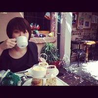 Photo taken at The Tea Cosy by Charlotte L. on 9/29/2012
