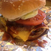Photo taken at Five Guys by Collin S. on 1/22/2013