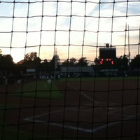 Photo taken at Marita Hynes Field at the OU Softball Complex by Sean B. on 10/6/2012