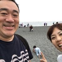 Photo taken at 旗津海水浴場 Cijin Beach by Nobu on 12/24/2016