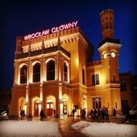 Снимок сделан в Wrocław Główny пользователем Kriss L. 12/13/2012