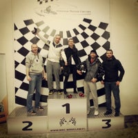 Photo taken at Wrocław Racing Centre by Kriss L. on 11/23/2013