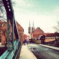 Das Foto wurde bei Ostrów Tumski von Kriss L. am 2/3/2013 aufgenommen