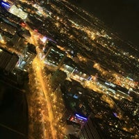 Photo taken at Punkt Widokowy Sky Tower by Kriss L. on 1/8/2014