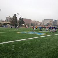 Photo taken at UCLA Spaulding Field by Roxanne R. on 12/8/2012