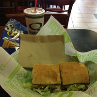 Photo taken at Quiznos by Roxanne R. on 3/27/2013