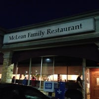 Photo taken at McLean Family Restaurant by Jay M. on 9/3/2013