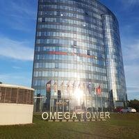 Снимок сделан в БЦ «Omega Tower» пользователем Elena P. 7/6/2018