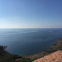 Photo taken at Spiaggia Torre dei Corsari by ola b. on 10/14/2017