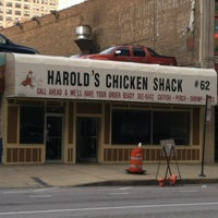Photo taken at Harold's Chicken Shack by Michael L. on 11/30/2012