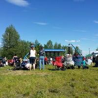 Photo taken at Tanana Valley State Fair Assoc by Lara 💚 P. on 6/8/2014