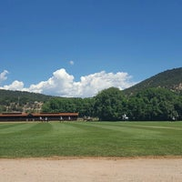 Photo taken at Aspen Polo Club by Andrea M. on 7/24/2016
