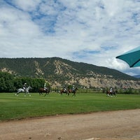Photo taken at Aspen Polo Club by Andrea M. on 8/28/2016