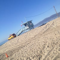 Photo taken at Santa Monica Beach Tower 26 by Andrea H. on 12/29/2013