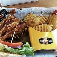Photo taken at Back Yard Burgers by Michael C. on 3/2/2013