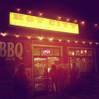 Photo taken at Hot City Barbeque & Bistro by Anastasia S. on 11/12/2012