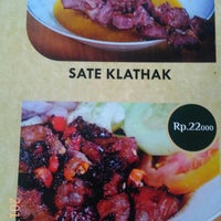 "Photo taken at Sate Klathak ""Pak Jede"" Khas Jejeran by rony y. on 1/29/2017"