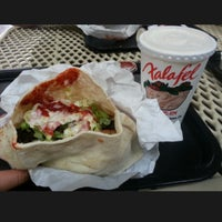 Photo taken at Falafel's Drive-In by Tram H. on 3/28/2013