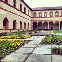 Foto scattata a Castello Sforzesco da Sriram K. il 3/29/2013