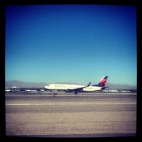 Photo taken at McCarran Airport Runway Observation by Jackie J. on 1/20/2013