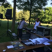 Photo taken at Parc des Franchises by Deejay P. on 7/9/2016