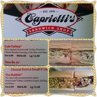 Photo taken at Capriotti's Sandwich Shop by Krystle P. on 7/2/2013