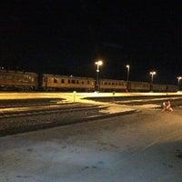 Photo taken at Elverum stasjon by Roger B. on 3/11/2015