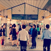 Photo taken at Tampines Bus Interchange by KING M. on 7/1/2013