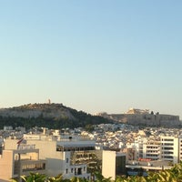 Photo taken at Athens Ledra Hotel by Nancy P. on 7/8/2013