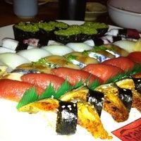 Photo taken at Sushi Zanmai by Savanna K. on 12/28/2012