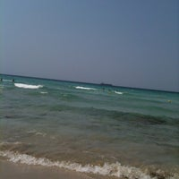 Photo taken at Lido St Anna-gallipoli ! by Laura R. on 8/16/2013