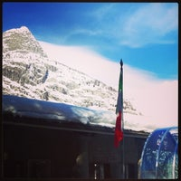 Photo taken at Courmayeur by Noemi G. on 2/22/2014